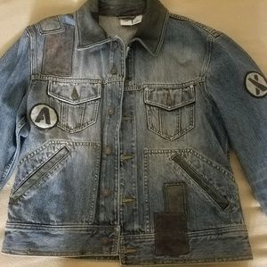 Armani Exchange AX denim jacket mens large